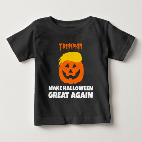 Donald Trumpkin Make Halloween Great Again Baby T_Shirt