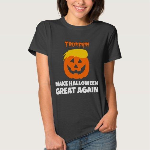 Donald Trumpkin Make Halloween Great Again Basic T-Shirt