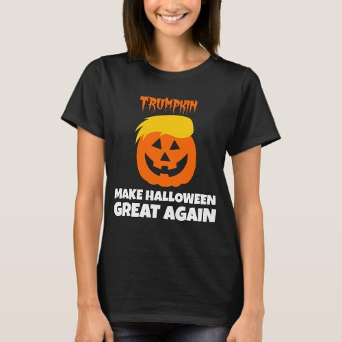 Donald Trumpkin Make Halloween Great Again T_Shirt