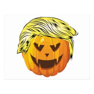 Donald Trumpkin Postcard