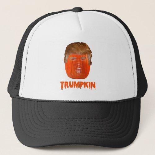 Donald Trumpkin Trump Jack_O_Lantern Hats