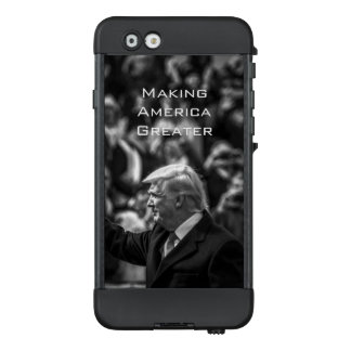 Donald Trump's Historical Inauguration in B&W LifeProof NÜÜD iPhone 6 Case
