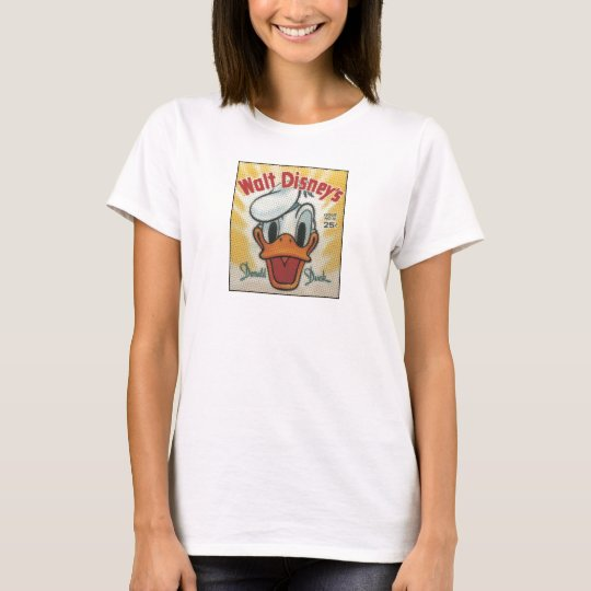 Donald Vintage Comic Cover T-Shirt