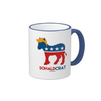 Donaldcrat Donkey Ringer Mug