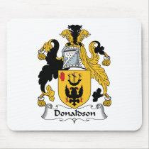 Donaldson Family Crest Mousepad