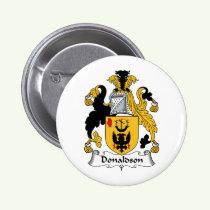 Donaldson Family Crest Button