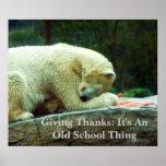 Donante de gracias: Es un Sch viejo… Posters
