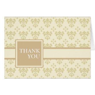 donante de gracias tarjeta de felicitación