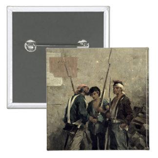 Donante de la orden, el 24 de febrero de 1848 pin cuadrado