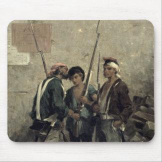 Donante de la orden, el 24 de febrero de 1848 tapete de raton