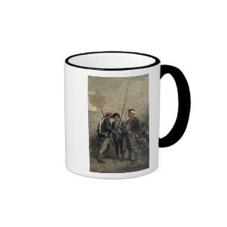 Donante de la orden, el 24 de febrero de 1848 taza de dos colores