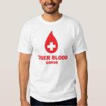 Donante de sangre del tigre poleras