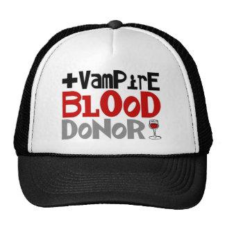 Donante de sangre del vampiro gorra