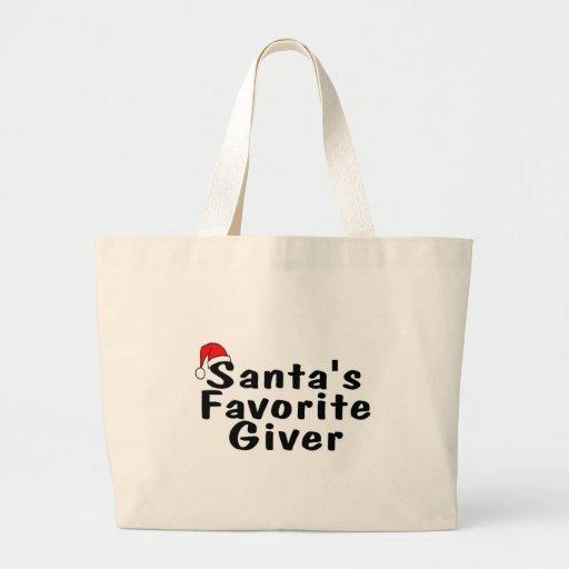 Donante del favorito de Santas Bolsas
