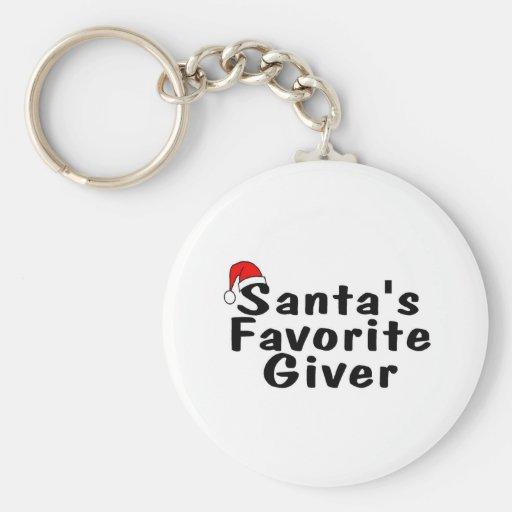 Donante del favorito de Santas Llaveros
