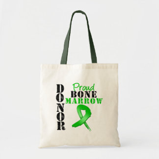 Donante orgulloso de la médula bolsa
