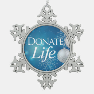 Donate Life tree ornament