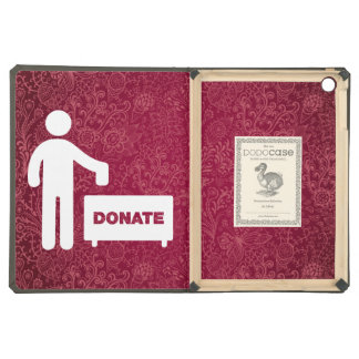 Donate Monies Symbol iPad Air Case