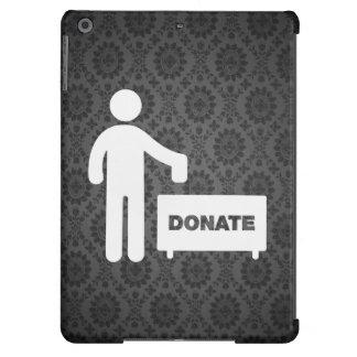 Donate Monies Symbol Cover For iPad Air