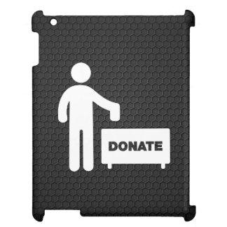 Donate Monies Symbol iPad Case