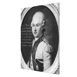 Donatien Marie Joseph de Vimeur Canvas Print