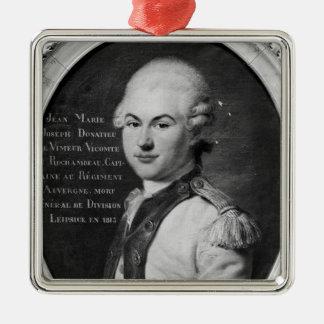 Donatien Marie Joseph de Vimeur Metal Ornament