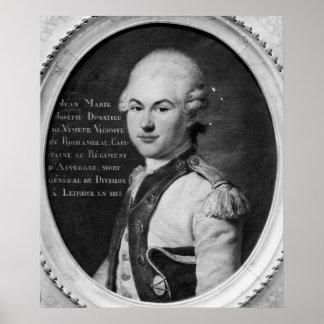Donatien Marie Joseph de Vimeur Poster