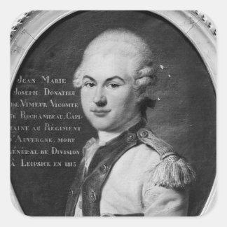 Donatien Marie Joseph de Vimeur Sticker