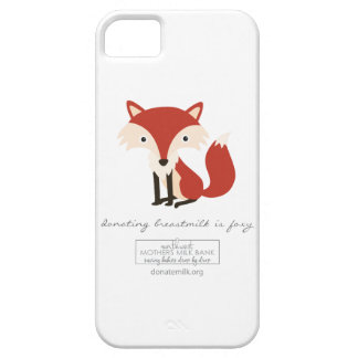 Donating Breastmilk is Foxy iPhone SE/5/5s Case