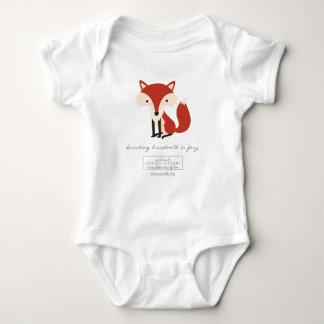 Donating Breastmilk is Foxy One Piece Baby Bodysuit
