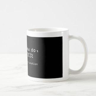 donation coffee mug