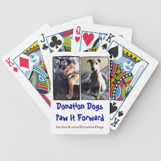 Donation Dogs Playing Cards