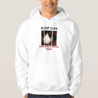 DONATIONS FROM THE HEART ANIMAL RESCUE HOODED SWEATSHIRT