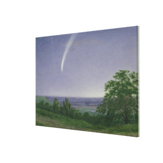 Donati's Comet, Oxford, 7.30pm, 5th October 1858 ( Canvas Print