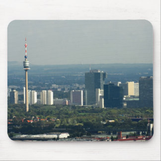 Donauturm and UNO City Mouse Pad