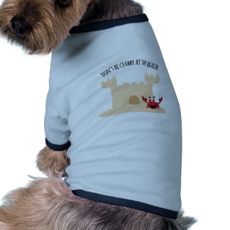 Don'be Crabby At The Beach! Pet Clothes