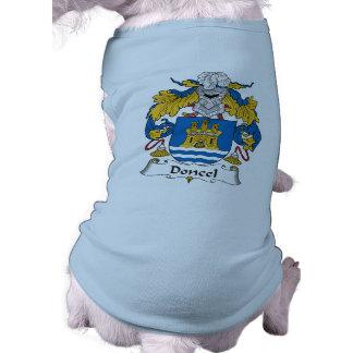 Doncel Family Crest Doggie T Shirt