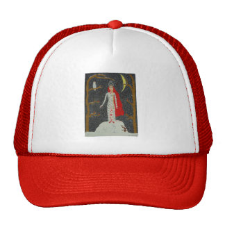 Doncella de la nieve (versión roja) gorra