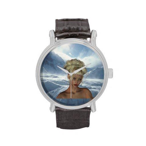 Doncella del duende reloj