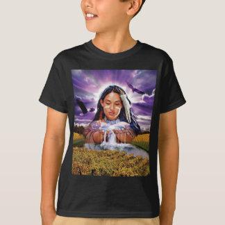 ¡Doncella ida salvaje! Camiseta para los niños