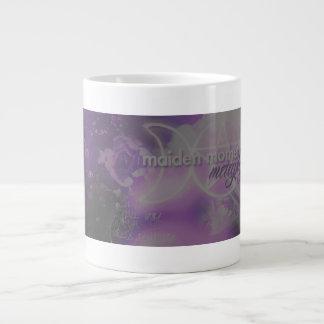 Doncella madre taza enorme metafísica de la viej tazas extra grande