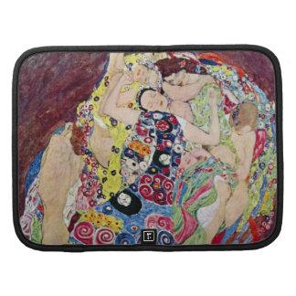 Doncella (Virgen), Gustavo Klimt, arte Nouveau del Organizador