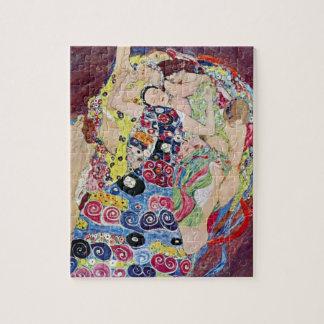Doncella (Virgen), Gustavo Klimt, arte Nouveau del Puzzle