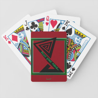 DonCP Free your mind 1 Bicycle Playing Cards