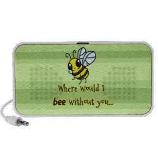 Donde abeja de I sin usted Mini Altavoces