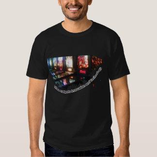 Donde el arte resuelve la camiseta de la playeras