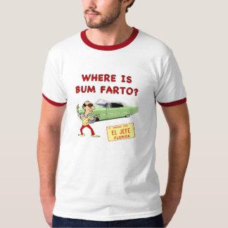 ¿Dónde es el vago Farto? Playera