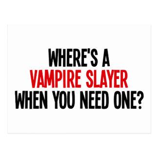 ¿Dónde es un vampiro asesino cuando usted necesita Postales