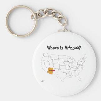 ¿Dónde está Arizona? Llaveros
