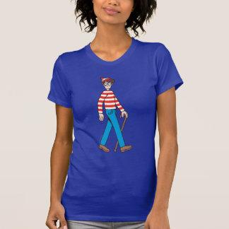 Donde está bastón de Waldo T-shirts